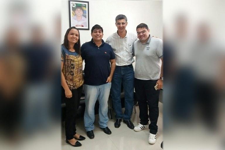Direção do IFFluminense se reúne com prefeito de Itaperuna