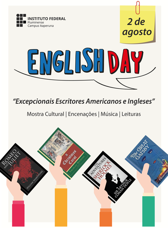 Cartaz do English Day