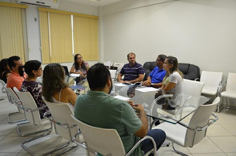 Reunião entre gestores do IFF Itaperuna e Secretaria de Educação