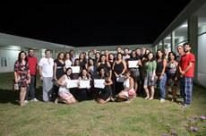 Os alunos receberam o certificado de Formação Continuada de Educação em Direitos Humanos