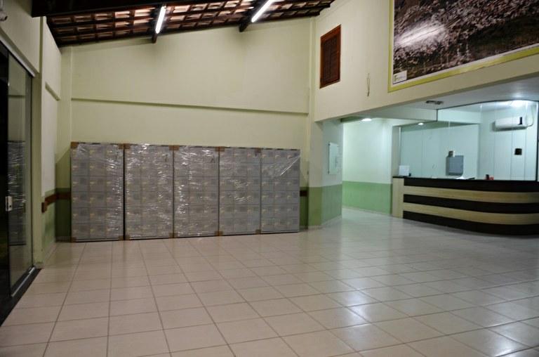 Hall do Bloco B do IFF Itaperuna