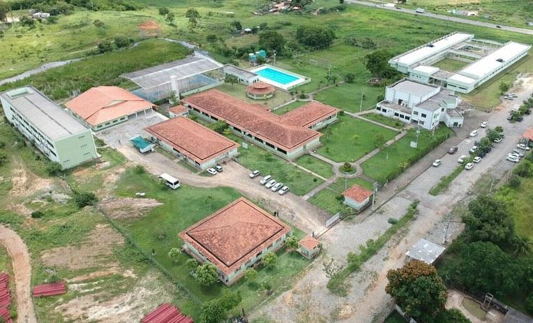 Vista aérea do IFFluminense Itaperuna