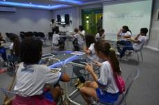 O evento reúne alunos dos níveis fundamental, médio e superior