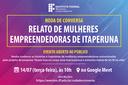 Roda de conversa no IFF Itaperuna