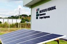 O campus receberá uma usina de energia solar