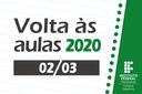 Volta às aulas 2020