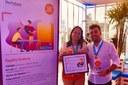 Entrega do prêmio Inova Escola ao IFF Itaperuna