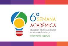 A VI Semana Acadêmica acontecerá em outubro