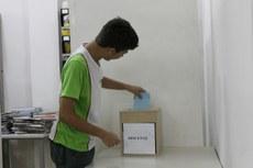 A urna será instalada na área próxima à biblioteca do campus