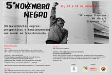 Novembro Negro no IFF Itaperuna