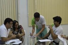 Os integrantes da chapa Juntxs tomam posse para a gestão 2016