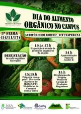 O Dia do Alimento Orgânico acontecerá no Campus Itaperuna