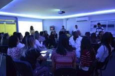 Professores do IFFluminense Campos Guarus participam de aula na Tecnoteca, em Itaperuna