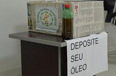 O posto de coleta foi instalado na recepção do campus Itaperuna