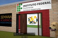 As salas temáticas estão abertas para visitação numa plataforma online de exposições