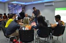 Alunos da Funita participam de oficina no IFF Itaperuna
