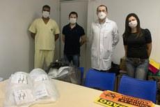 Os protetores serão usados pelas equipes de atendimento da UPA de Itaperuna