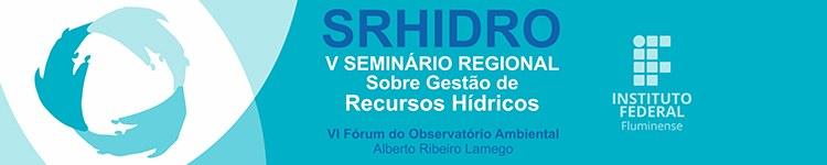 Banner SRHidro 2016