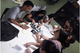 Escola Municipal Raul Veiga - Macaé - Segunda visita à Fanzinoteca, dia 25/02/2019. Noite de troca de experiências sobre técnicas de fanedição, quadrinhos autorais e stencil. A Fanzinoteca recebeu zines produzidos pela escola visitante.