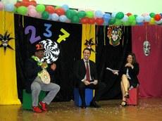 Os professores Severino Neto, Marcelo Vizeu e Ana Paula Siqueira. (Foto: Valdênia Lins)
