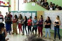 Apresentação dos servidores do Curso de Libras do NAPNEE. (Foto: Leonardo Saleh)