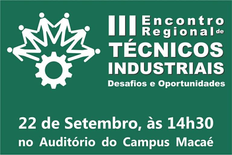 Imagem Encontro Regional dos Técnicos Industriais