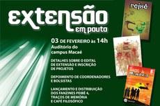 Aberto a servidores e alunos do IF Fluminense.