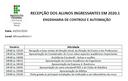 Recepção ECA 2020.1