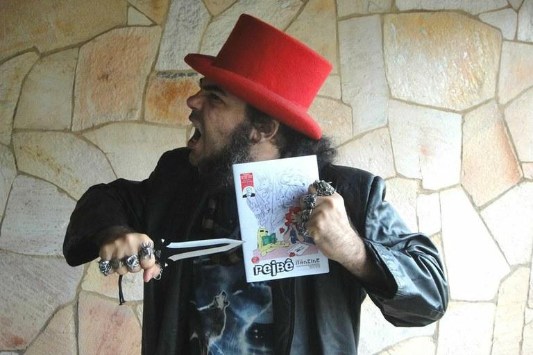 Palestra com Ciberpajé marca o lançamento da quinta edição do fanzine PEIBÊ