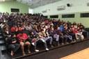 O sorteio das vagas para os Cursos Técnicos Subsequentes aconteceu no auditório do campus Macaé, às 19h.