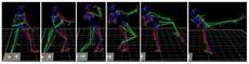 Ilustração de parte do resultado do processamento dos dados de um dos atletas do estudo.
