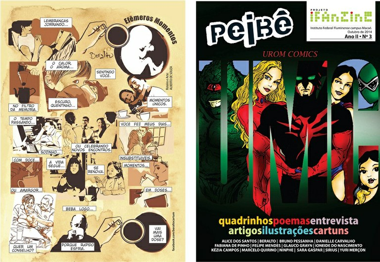 Capa do Fanzine PEIBÊ