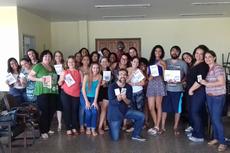 Os participantes da oficina realizada em São Gonçalo produziram dois fanzines.
