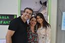Alberto de Souza, Andrea Gomes e Márcia Lisboa no Encontro das Artes.