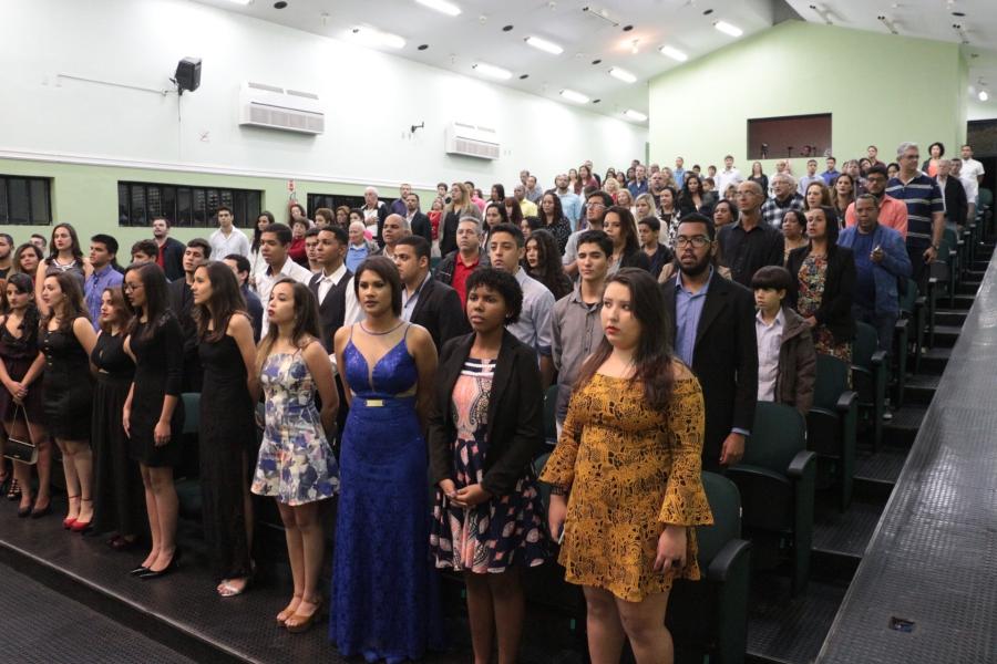Formatura das turmas do Ensino Médio Integrado em Automação