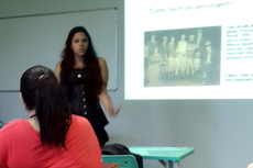 Danielle Barros incentivou a liberdade criativa dos presentes para a criação do HQforismo.