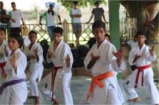 Demonstrações de Karatê fizeram parte da programação do Evento.