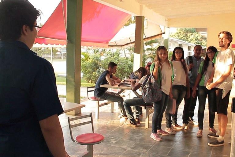 Estudantes e professor do campus Avançado Maricá produzem vídeo para concurso do Ministério da Educação