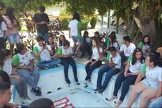 Estudantes realizaram assembleia para discutir melhorias para o campus.