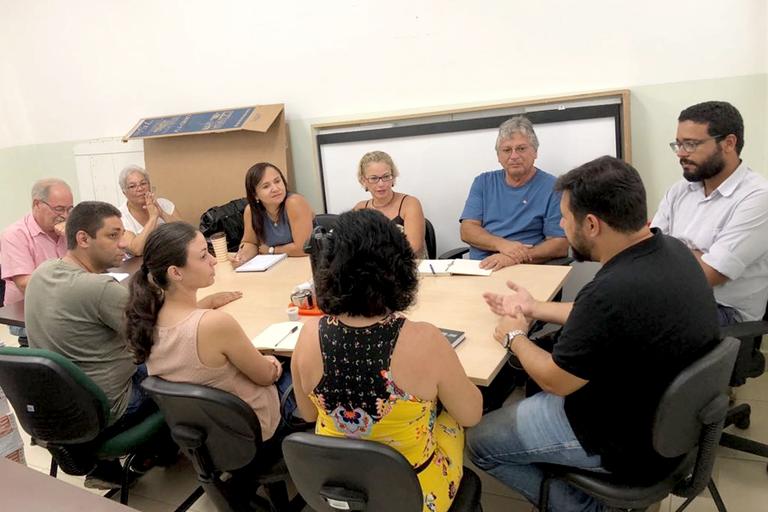 O encontro ocorreu no Campus Avançado Maricá, no dia 14 de março de 2018.