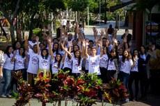 Estudantes participam de Feira que integra miniempresas do estado do Rio de Janeiro.