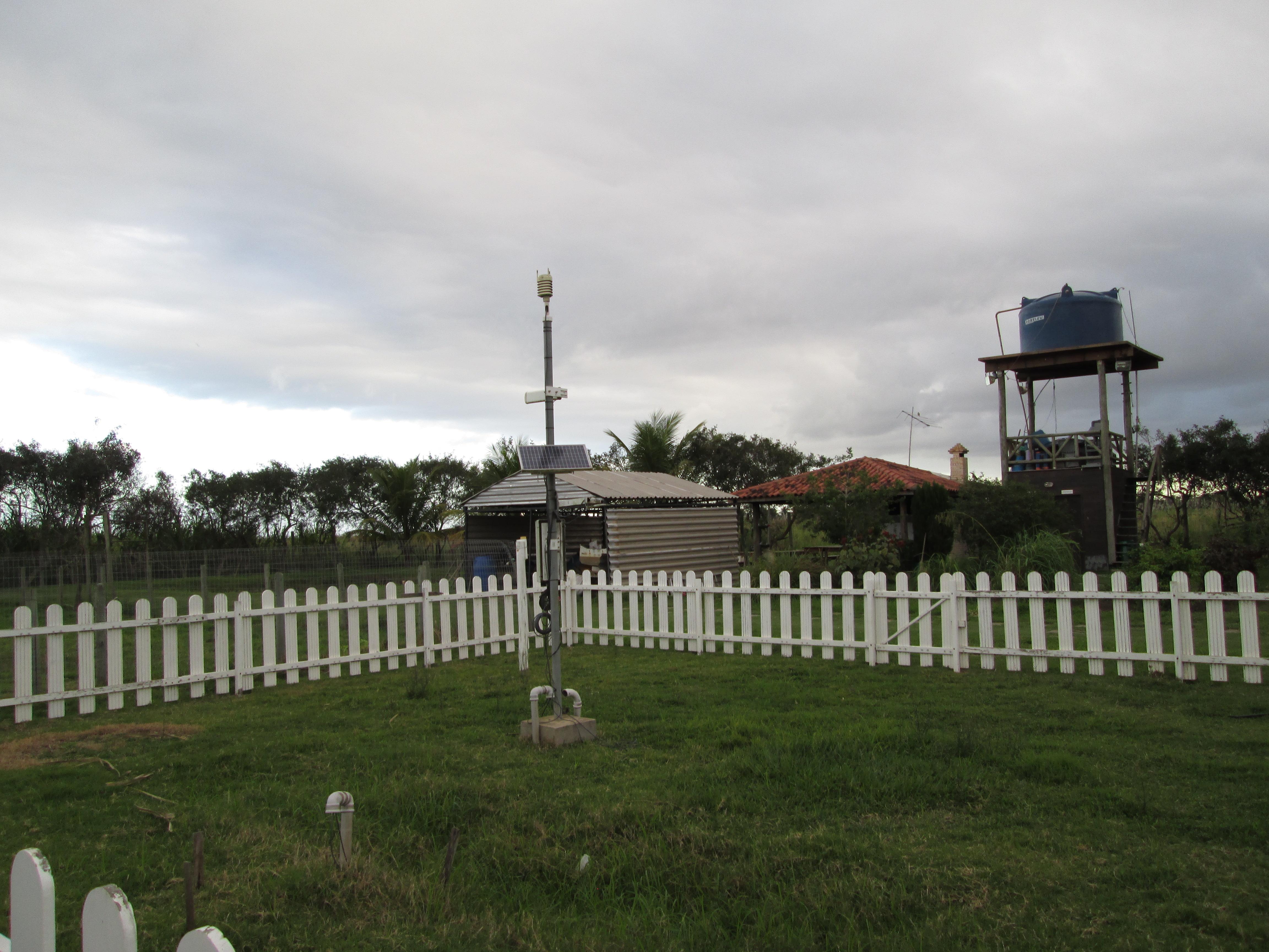 Estação meteorológica automática