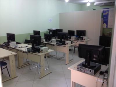 Laboratório de Informática do campus Rio Paraíba do Sul/Upea.