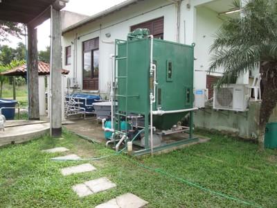 Estação de tratamento de água do campus Rio Paraíba do Sul/Upea