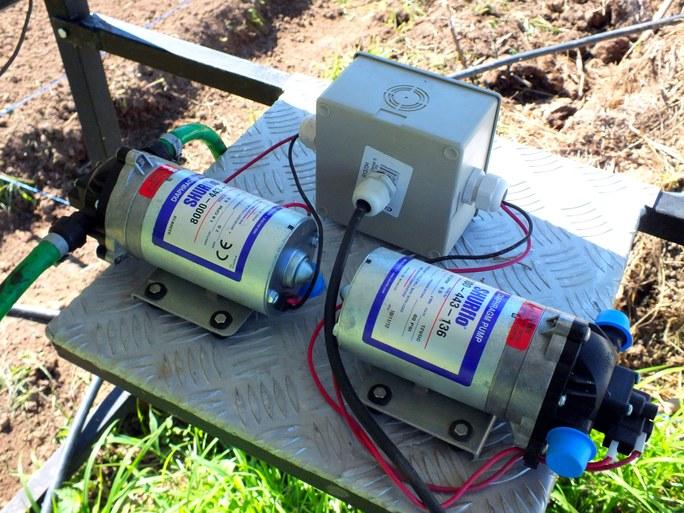 Sistema de irrigação sustentável por meio de ciclo hidrológico e movido à energia solar fotovoltaica - Imagem 3