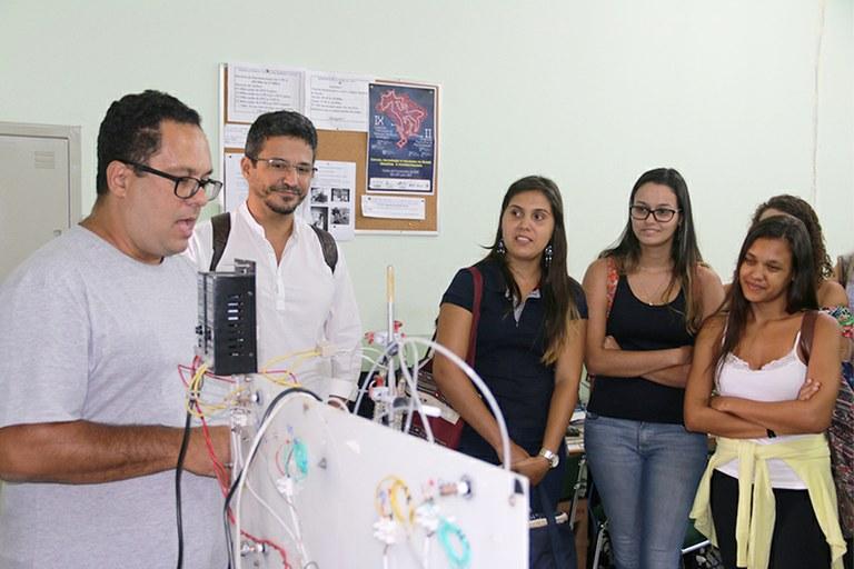 Alunos do Curso de Engenharia Ambiental visitam Polo de Inovação