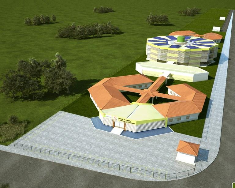 Projeto da área do Polo de Inovação