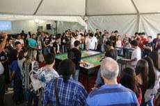 Grande público acompanhou a programação do primeiro dia.