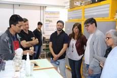 O grupo conheceu o Polo de Inovação e seus projetos e também foi à Laticínios Guarujá, onde está em funcionamento o Codigestor Anaeróbico Modular. (Foto: Pablo Nascimento)