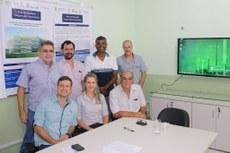 Gestores do PICG com representantes da empresa Eximea